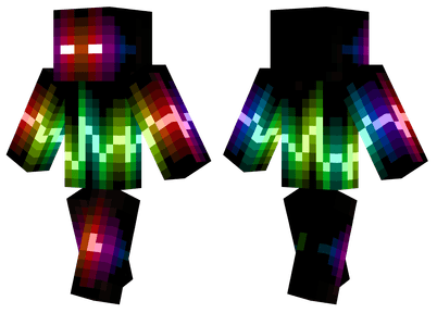 Wave Monster Minecraft Skins