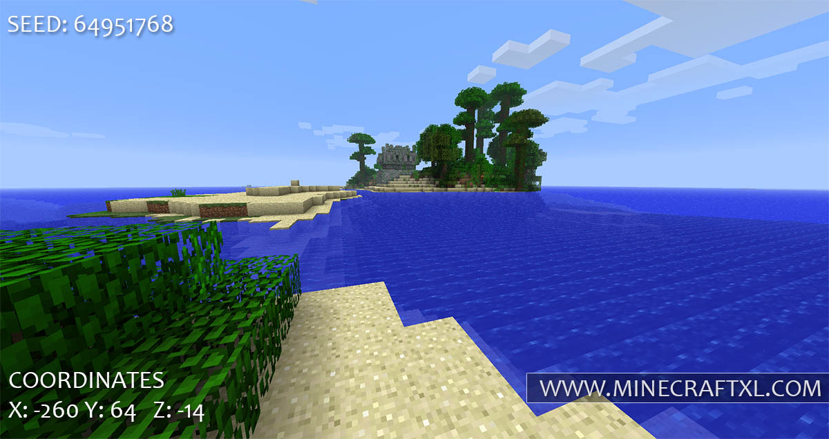 Minecraft Tropical Islands Seed 64951768 Minecraft XL