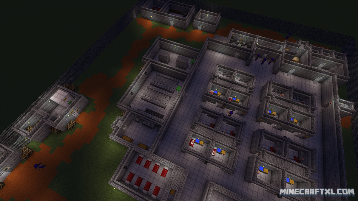 The Escapists Map Download For Minecraft 18 MinecraftXL