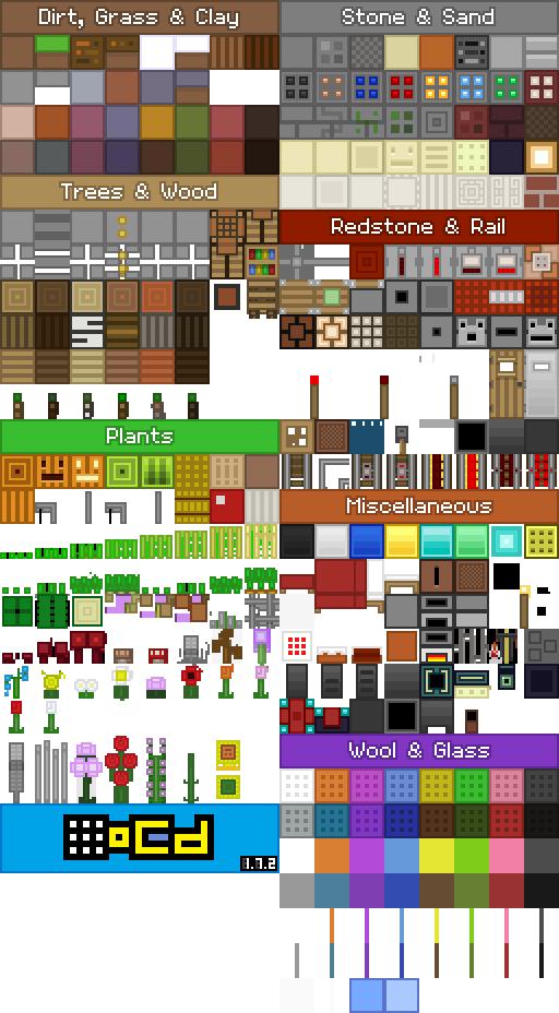 Ocd Minecraft Resource Pack