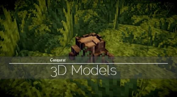 3D Models Pack Resource Pack