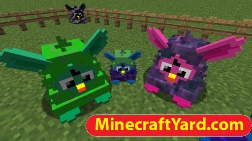 Furby Mania Mod 1.14/1.13.2/1.12.2/1.11.2