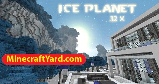 Ice Planet Resource Pack 1.16.2/1.15.2