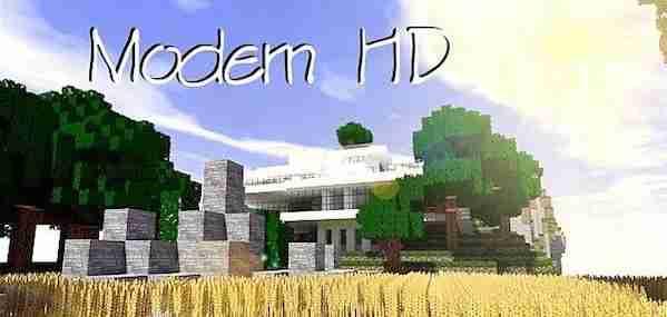 Modern HD Resource Pack 1.13.1/1.13/1.12.2/1.11.2
