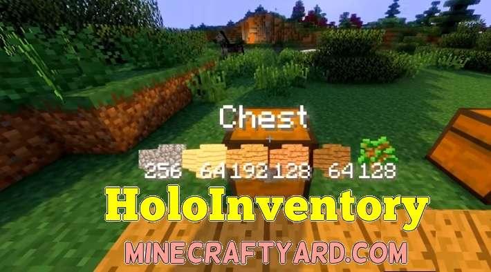 HoloInventory Mod 1.16.5/1.15.2