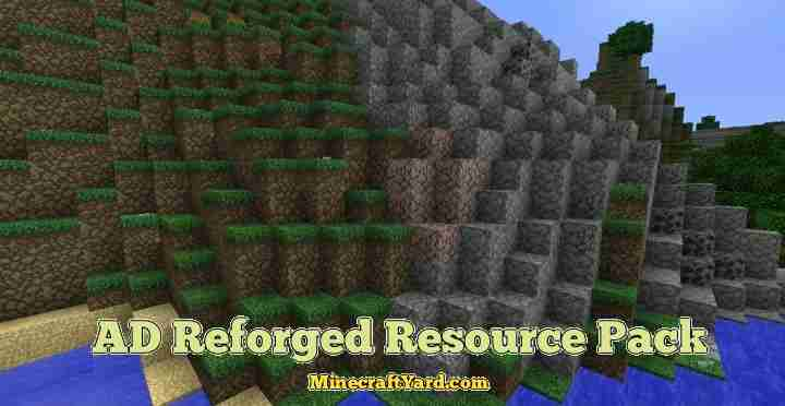 AD Reforged Resource Pack 1.16.4/1.15.2