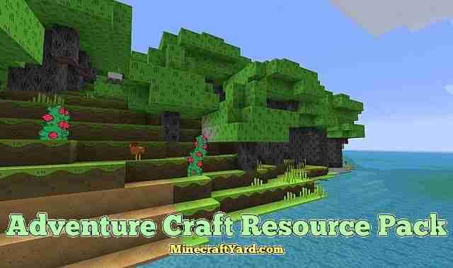 Adventure Craft Resource Pack 1.16.3/1.15.2