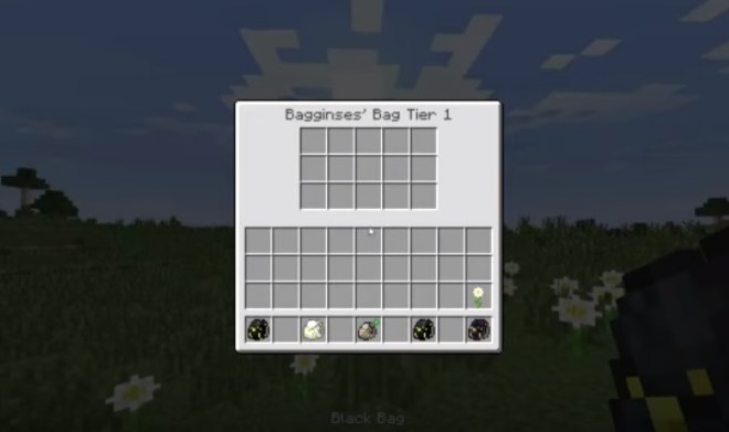Bagginses Mod for Minecraft