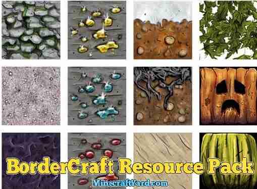 BorderCraft Resource Pack 1.16.5/1.15.2