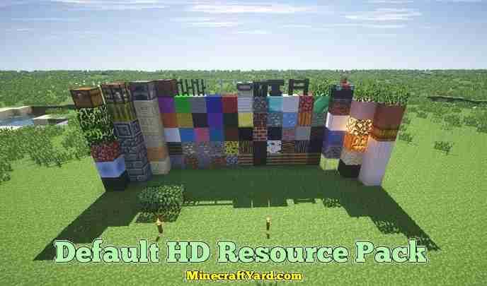 Default 3D Resource Pack 1.13.1/1.13/1.12.2