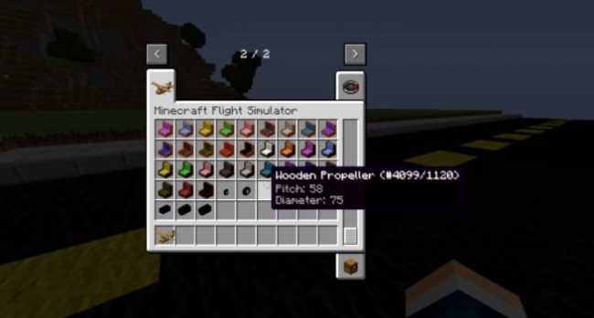 Minecraft Flight Simulator Mod