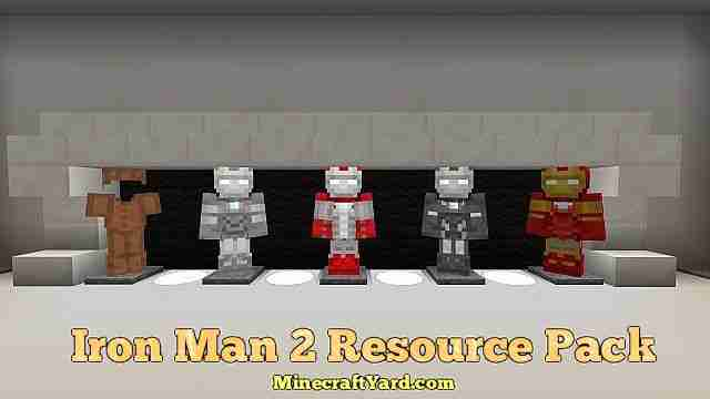 Iron Man 2 Resource Pack 1.13.1/1.13/1.12.2