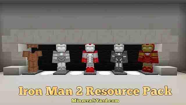 Iron Man 2 Resource Pack 1.16.5/1.15.2