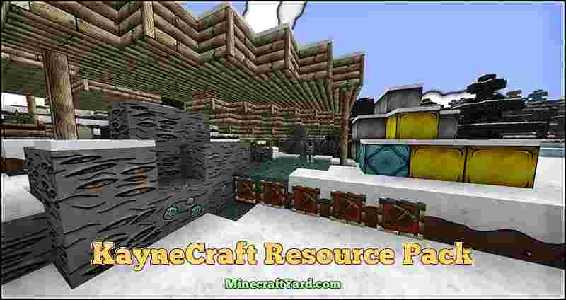 KayneCraft Resource Pack 1.13.1/1.13/1.12.2