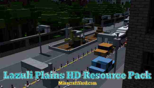 Lazuli Plains HD Resource Pack 1.16.3/1.15.2