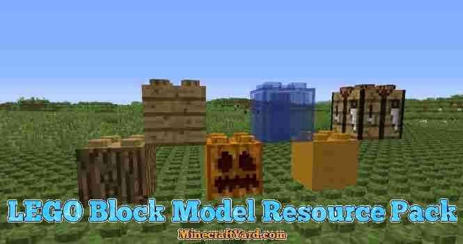 Lego Block Model Resource Pack 1.16.5/1.15.2