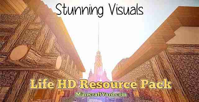 Life HD Resource Pack 1.16.5/1.15.2
