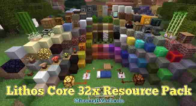 Lithos Core 32x Resource Pack 1.13.1/1.13/1.12.2