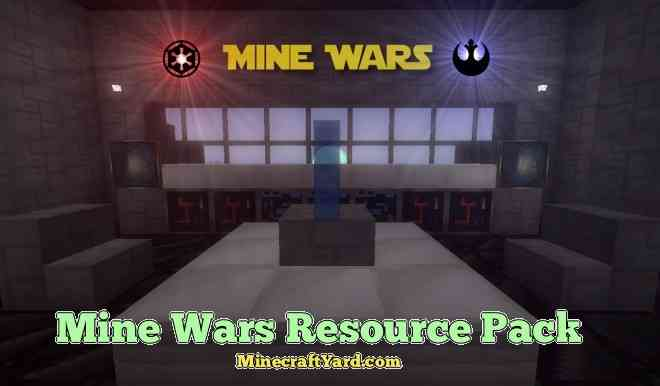 Mine Wars Resource Pack 1.16.4/1.15.2