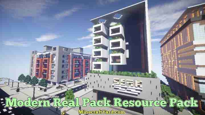 Modern Real Resource Pack 1.16.5/1.15.2