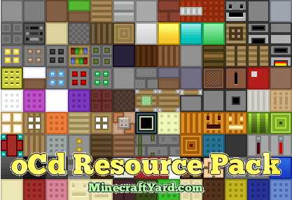 oCD Resource Pack 1.15.2/1.14.4/1.13.2/1.12.2