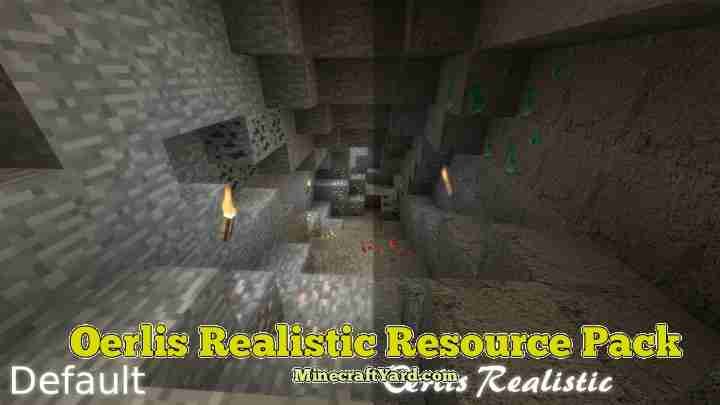 Oerlis Realistic Resource Pack 1.16.5/1.15.2