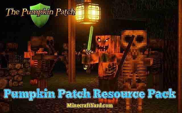 Pumpkin Patch Resource Pack 1.13.1/1.13/1.12.2/1.11.2