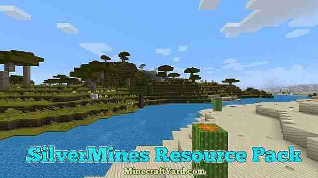 SilverMines Resource Pack 1.16.5/1.15.2