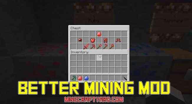 Better Mining Mod 1.13.1/1.13/1.12.2/1.11.2