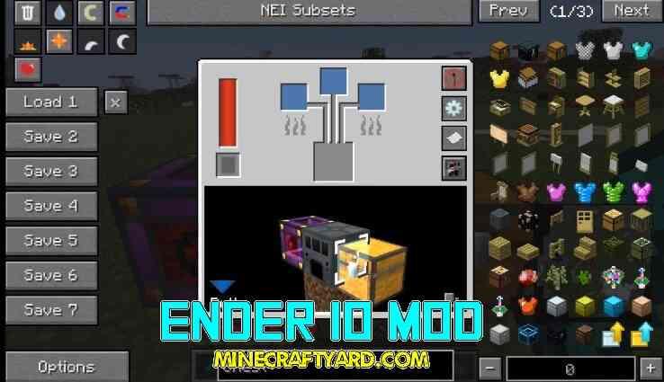 Ender IO Mod 1.14/1.13.2/1.12.2/1.11.2