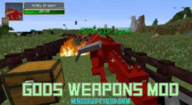Gods Weapons Mod 1.16.5/1.15.2