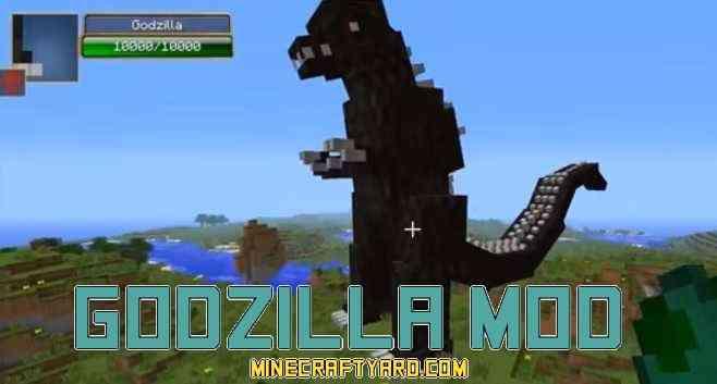 Godzilla Mod 1.13.1/1.13/1.12.2