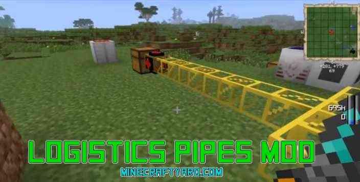 Logistics Pipes Mod 1.14/1.13.2/1.12.2/1.11.2