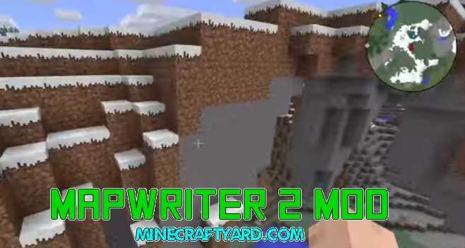 Mapwriter 2 Mod 1.14/1.13.2/1.12.2/1.11.2