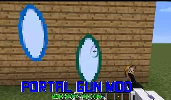 Portal Gun Mod 1.17.1/1.16.5