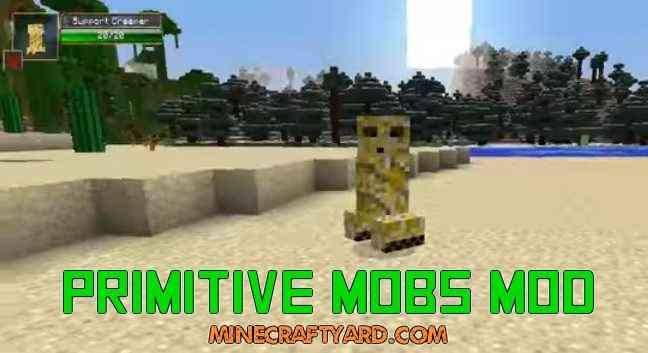 Primitive Mobs Mod 1.16.5/1.15.2