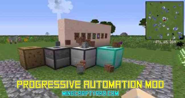 Progressive Automation Mod 1.16.5/1.15.2