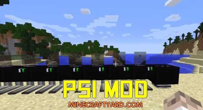 PSI Mod 1.14/1.13.2/1.12.2/1.11.2