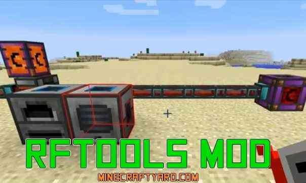 RFTools Mod 1.16.2/1.16.1/1.15.2