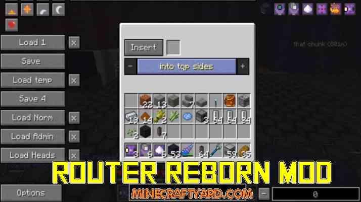 Router Reborn Mod 1.16.4/1.15.2