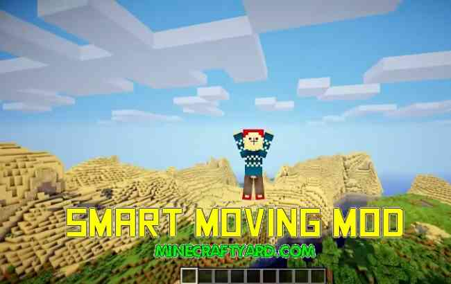 Smart Moving Mod 1.16.4/1.15.2