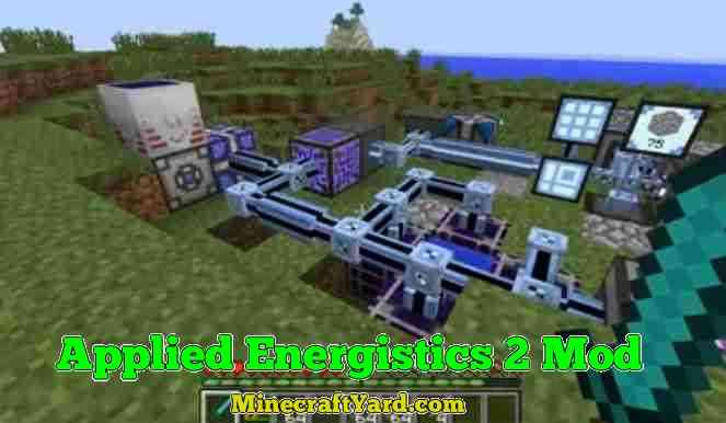 Applied Energistics Mod 1.16.3/1.15.2