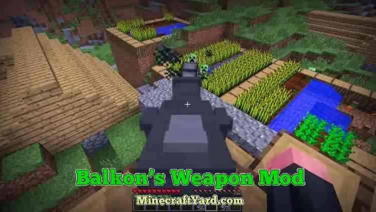 Balkon's Weapon Mod 1.16.3/1.15.2