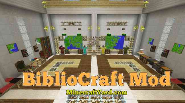Bibliocraft Mod 1.14.3/1.13.2/1.12.2/1.11.2