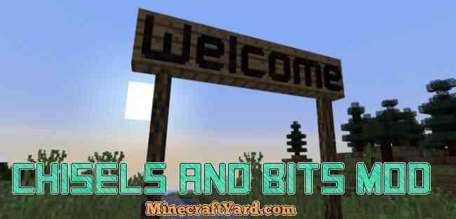 Chisel and Bits Mod 1.16.5/1.15.2