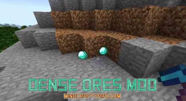 Dense Ores Mod 1.16.5/1.15.2