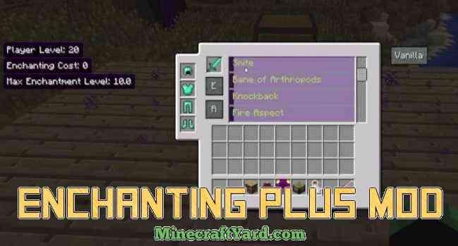 Enchanting Plus Mod 1.14/1.13.2/1.12.2/1.11.2