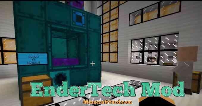EnderTech Mod 1.16.5/1.15.2
