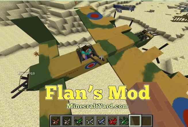 Flan's Mod 1.14/1.13.2/1.12.2/1.11.2