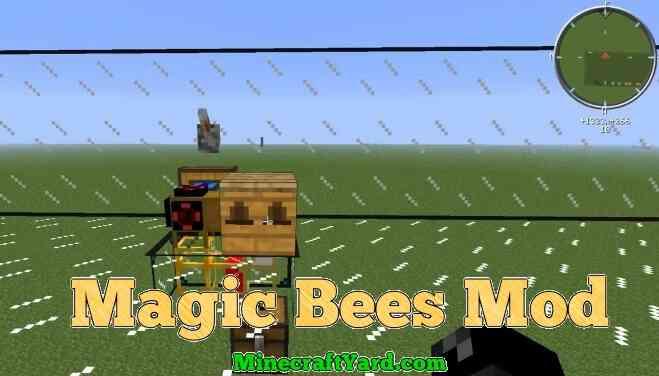 Magic Bees Mod 1.16.3/1.15.2